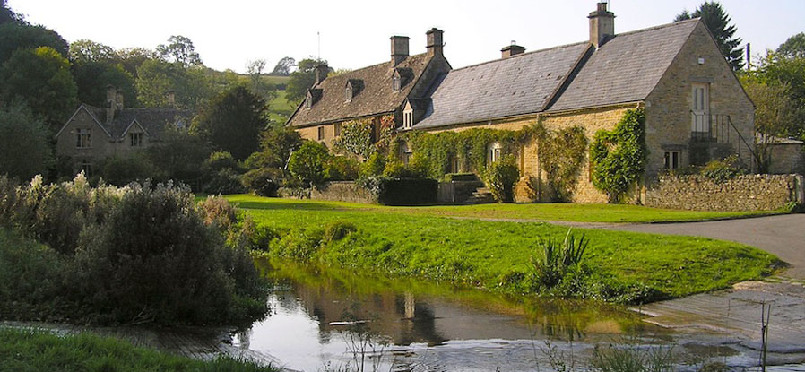 Upper Slaughter, the Cotswolds, UK